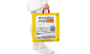 BILLA zavádí tašky z recyklovaného plastu. Do budoucna je plánuje vyrábět z fólií vytříděných ve svých vlastních prodejnách
