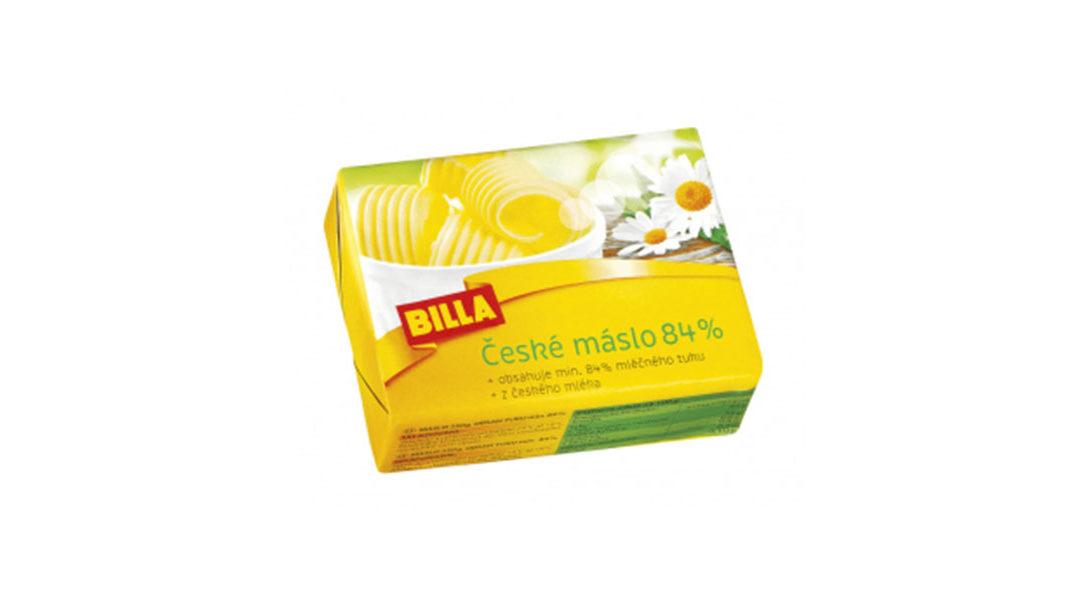 České máslo BILLA