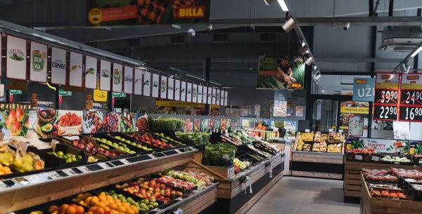 Kvalitní a čerstvé potraviny nakoupí zákazníci nově i v Poděbradech. BILLA zde otevřela svoji 235. prodejnu v ČR