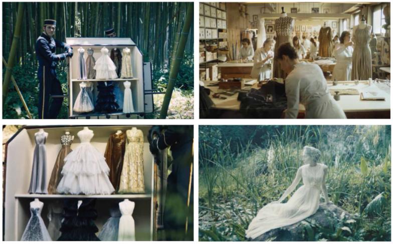 Dior digital showcase